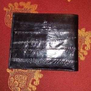 Genuine Eelskin Men's Wallet NWT
